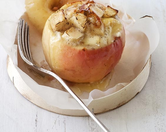 Pommes Miss Chef® truffées au camembert