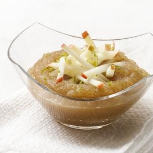Compote de pommes Miss Chef® crues et cuites à la vanille et à la citronnelle